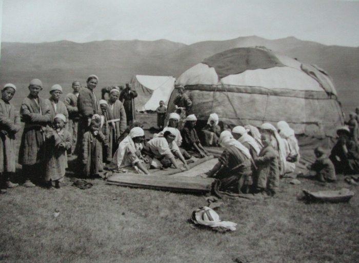 Алайские киргизы в XIX веке
