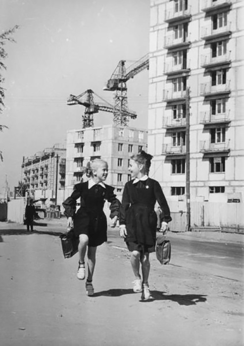Новоселы 1966 год Нина Свиридова, Дмитрий Воздвиженский