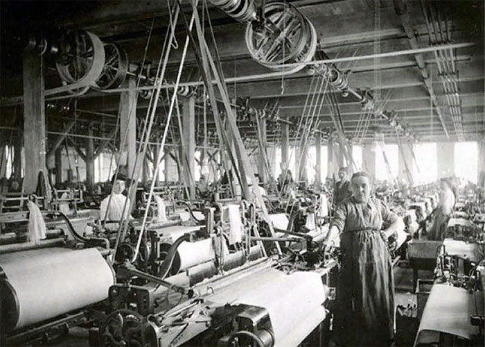 Ткацкая фабрика, Россия, 19 век