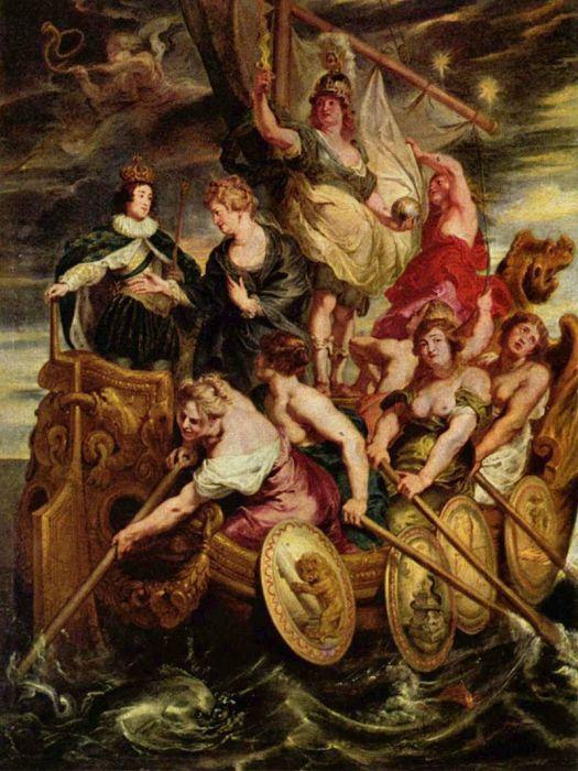 Питер Пауль Рубенс, Совершеннолетие Людовика XIII