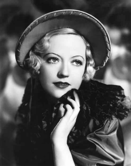 Мэрион Дэвис, звезда американского кинематографа 40-50-х годов и подруга медиа магната Уильяма Хёрста, 1936 г.