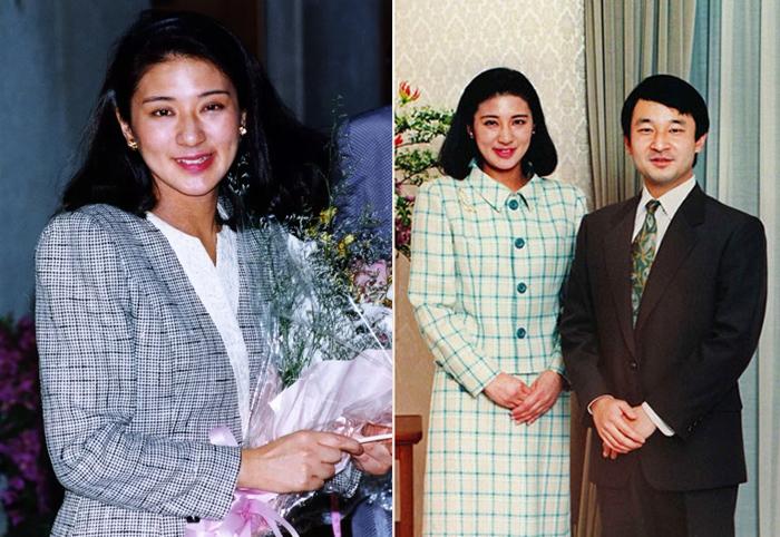 Нарухито и Масако в молодости