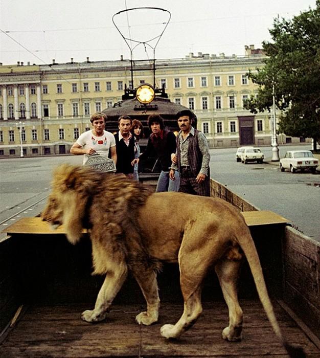 Кадр из фильма «Невероятные приключения итальянцев в России», 1973 год
