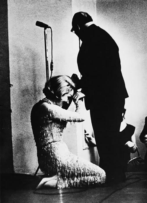 Марлен Дитрих и Константин Паустовский, 1964 год