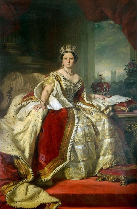 Франц Ксавьер Винтерхальтер – Королева Виктория, 1859 год