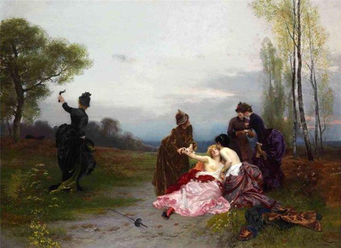 Эмиль Антуан Баярд, Примирение (вторая часть диптиха)