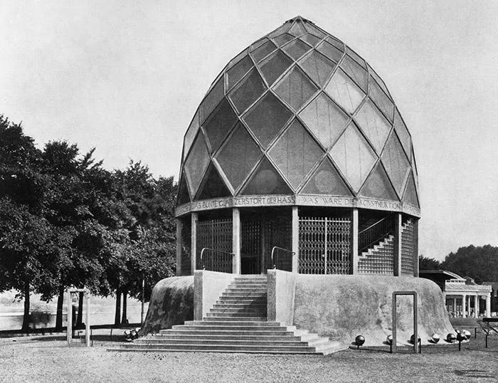 Бруно Таут, Стеклянный павильон, 1914 год