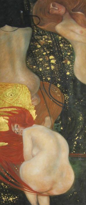Густав Климт, Золотые рыбки (Моим критикам)