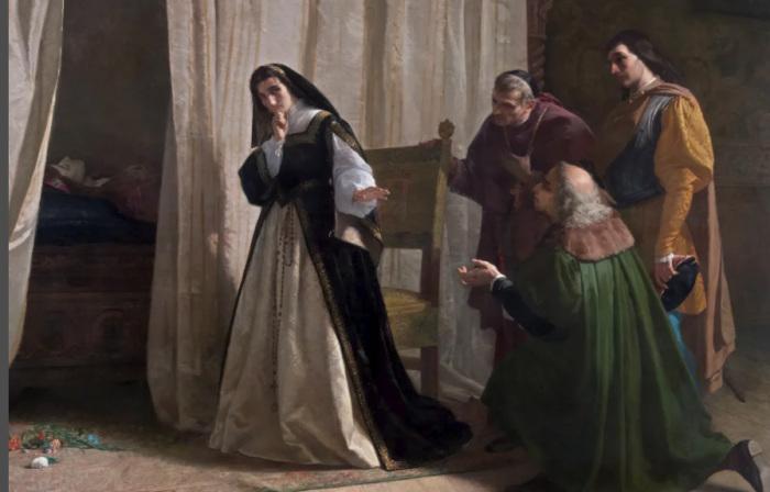 Хуана безумная – героиня множества живописных полотен
