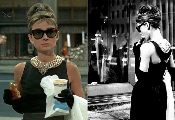 Маленькое черное платье и жемчужное ожерелье из к/ф «Завтрак у Тиффани»