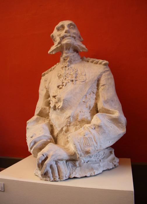 Паоло Трубецкой, Портрет князя Мещерского, 1895 г., Музей пейзажа, Вербания, Палланца. Экземпляр в бронзе находится в собрании ГТГ
