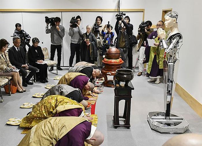 Android Kannon – новый инновационный проект буддистского храма  в Японии