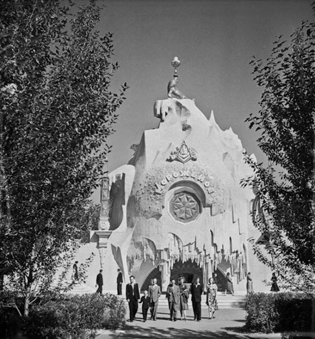 Павильон «Мороженое» после реконструкции 1954 года, ВДНХ