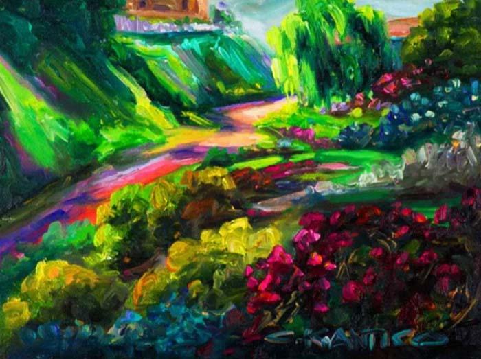 Картины Кончетты Антико поражают яркими красками