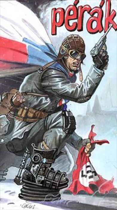 Перак (прыгун) – герой городской легенды времен нацистской оккупации Чехословакии