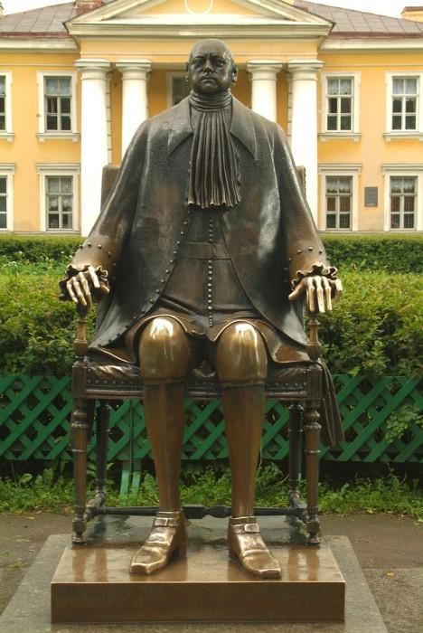М. Шемякин, Памятник Петру I в Петропавловской крепости, Санкт-Петербург, 1991 г.