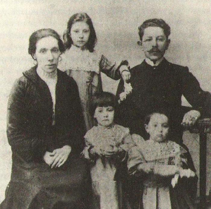 Семья Факторович, конец XIX века