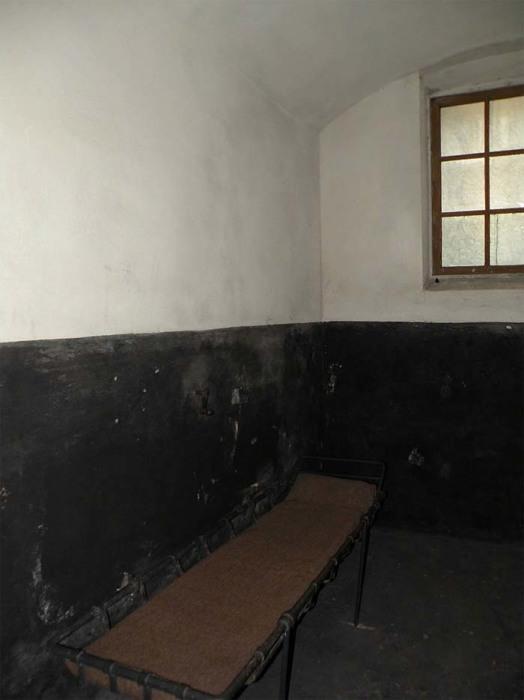 Камера Шлиссельбургской крепости, в которой Морозов содержался более 20 лет