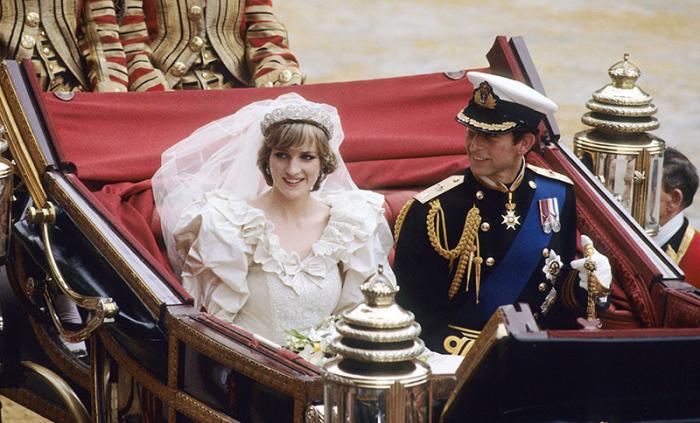 Свадьба Чарльза, принца Уэльского и Леди Дианы Фрэнсис Спенсер, 29 июля 1981 года
