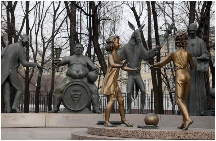 М. Шемякин, «Дети — жертвы пороков взрослых», Москва, 2001 г.
