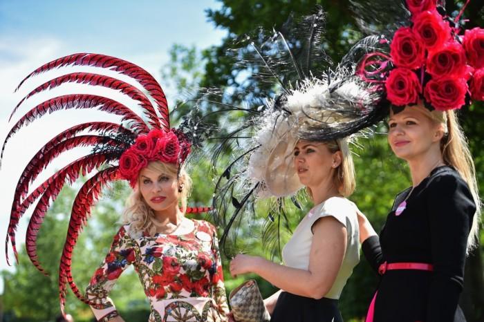 Для дам Royal Ascot – это возможность показать себя во всей красе