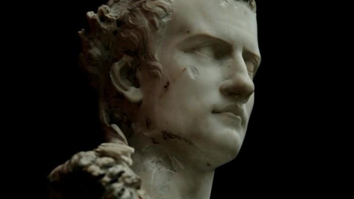 Калигула, мраморный бюст, I век н.э.