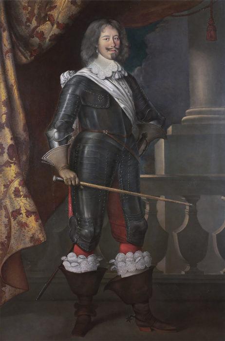 Портрет графа де Тревиля, хранившийся в замке Труавиль