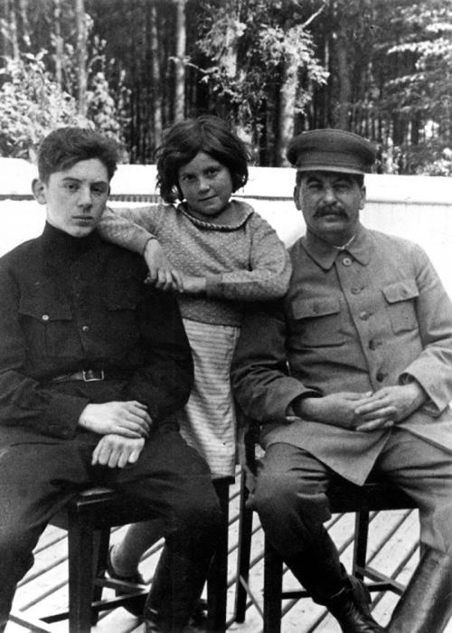 Светлана с отцом и братом Василием