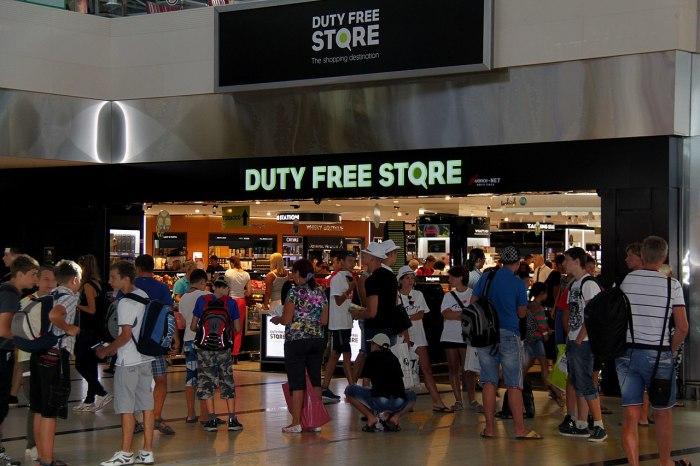 Магазин беспошлинной торговли в аэропорту Антальи