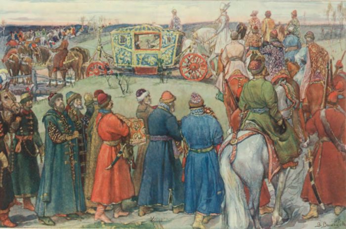 В.Васнецов «Выезд на царскую оÑоту»