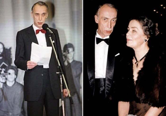 Александр Иванов с супругой
