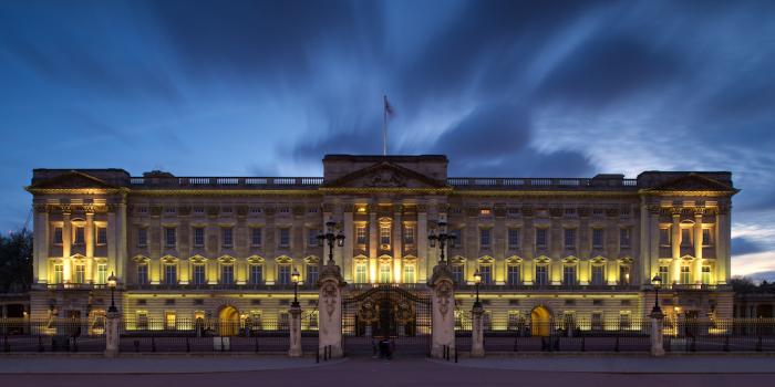 Букингемский дворец - официальная лондонская резиденция британских монархов