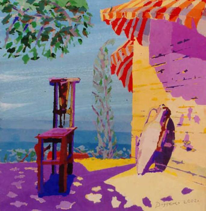 Дмитрий Дидоренко – слепой художник