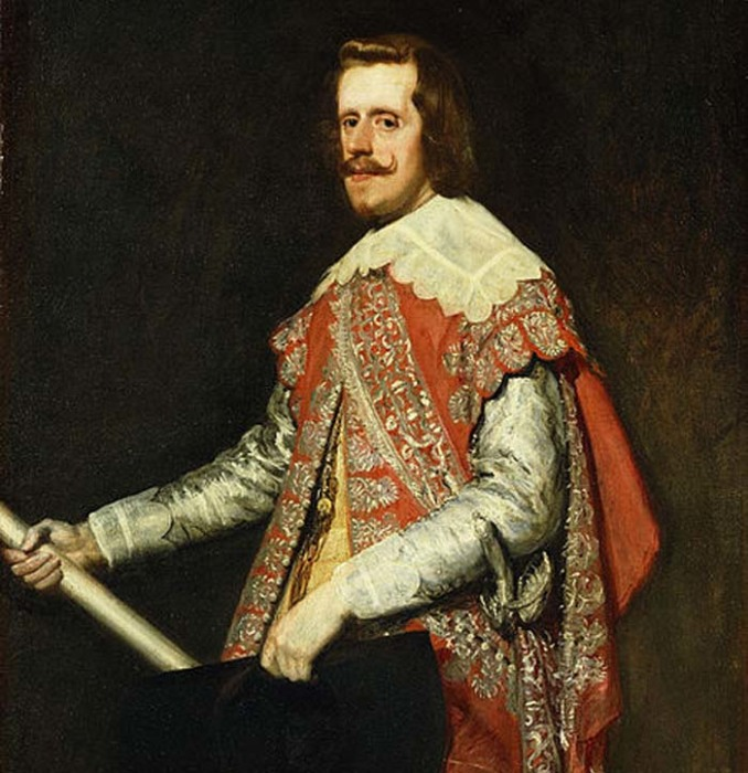 Филипп IV , портрет работы Диего Веласкеса, 1656 год