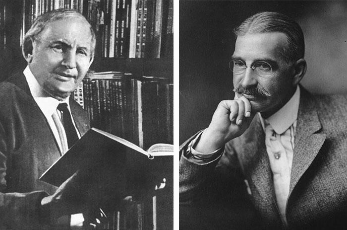 Александр Мелентьевич Волков (1891-1977) и Лаймен Фрэнк Баум (1856-1919)