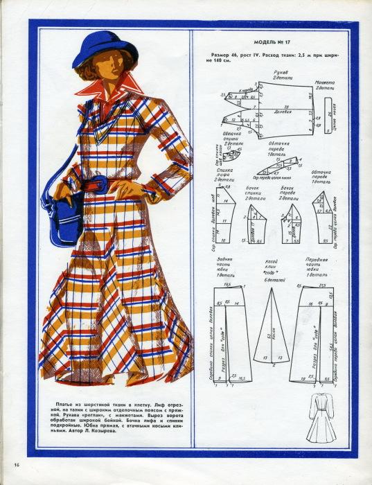 Журнал мод, 1977