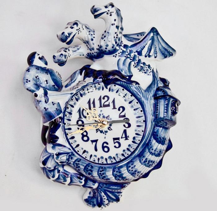 Первый завод по производству фарфора в Гжели был построен около 1800 года