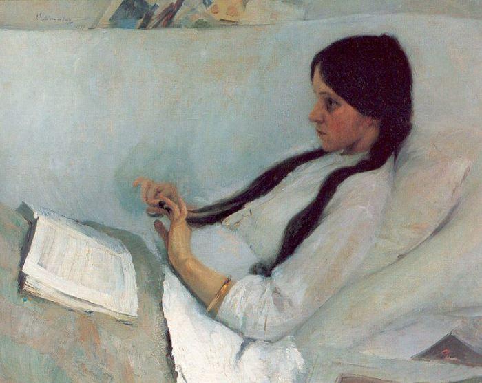 Ф. А. Малявин «Больная», 1897 год