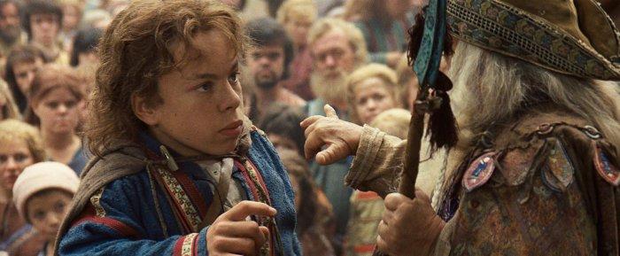 Кадр из фильма «Уиллоу», 1988 года, в главной роли - Уорвик Дэвис