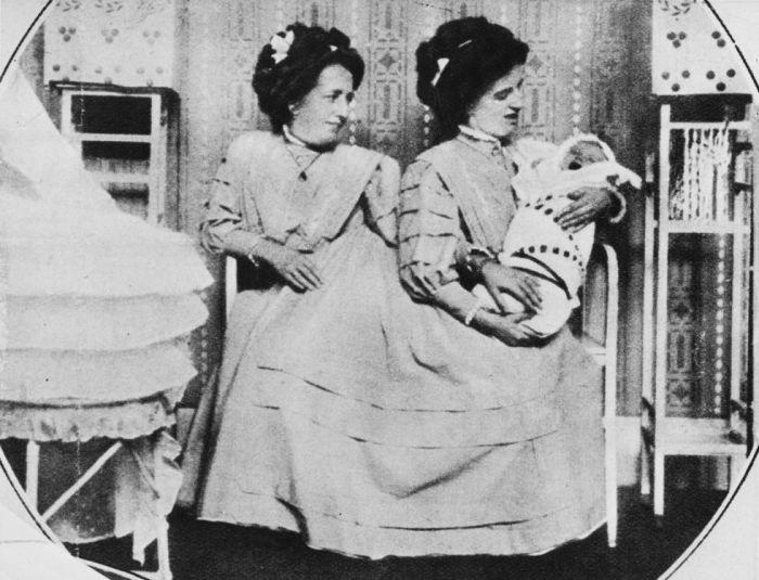 Роза и Жозефа Блажек сумели выносить и родить здорового ребенка
