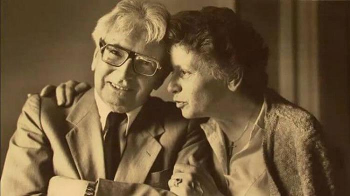 Виктор Франкл со своей второй супругой
