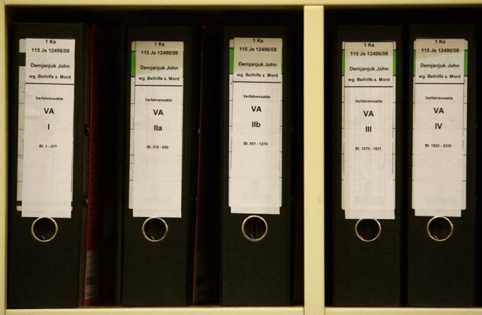 Дело Демьянюка длилось около 40 лет и его материалы превратились в настоящую «библиотеку»