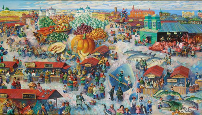 С. Сочивко, Казачий рынок