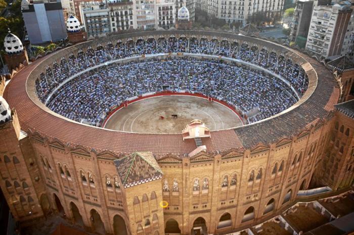 Арена для корриды в Барселоне