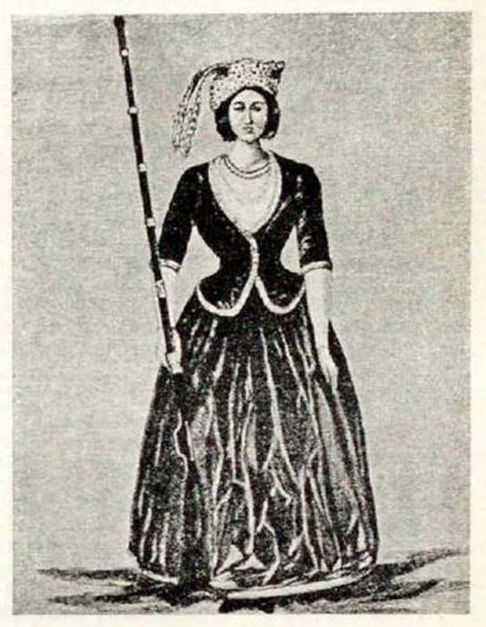 Елена Ивановна Сарандова, командир «Амазонской роты»