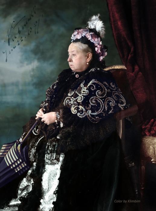 Королева Виктория в 1897 году