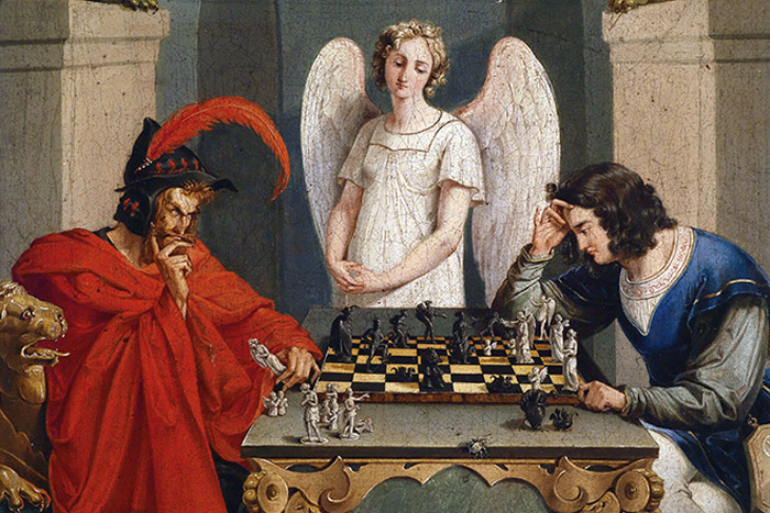 Фауст и Мефистофель – вечный сюжет о поиске человеком истины и познании самого себя