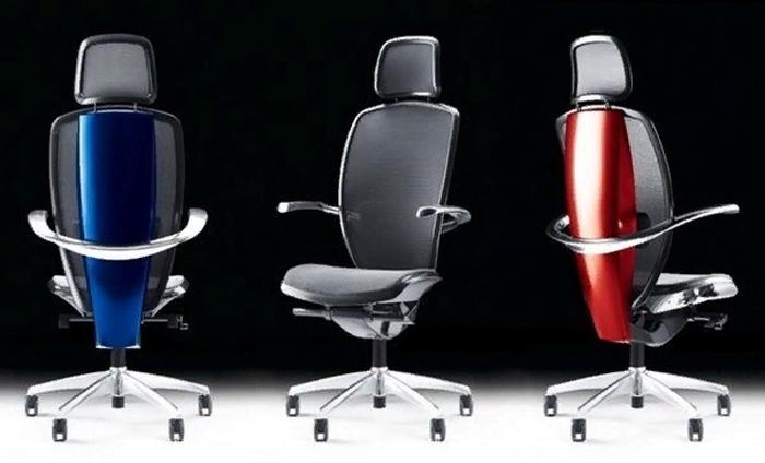 Современное офисное кресло – высокотехнологичный шик