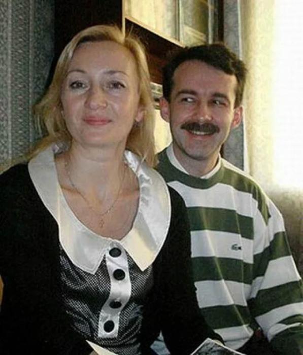 Взрослые Наталья Симонова и Юрий Нахратов