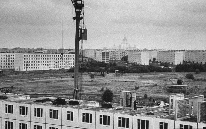 Новые жилые кварталы Москвы, 1963 год, Стэн Вейман (Stan Wayman)
